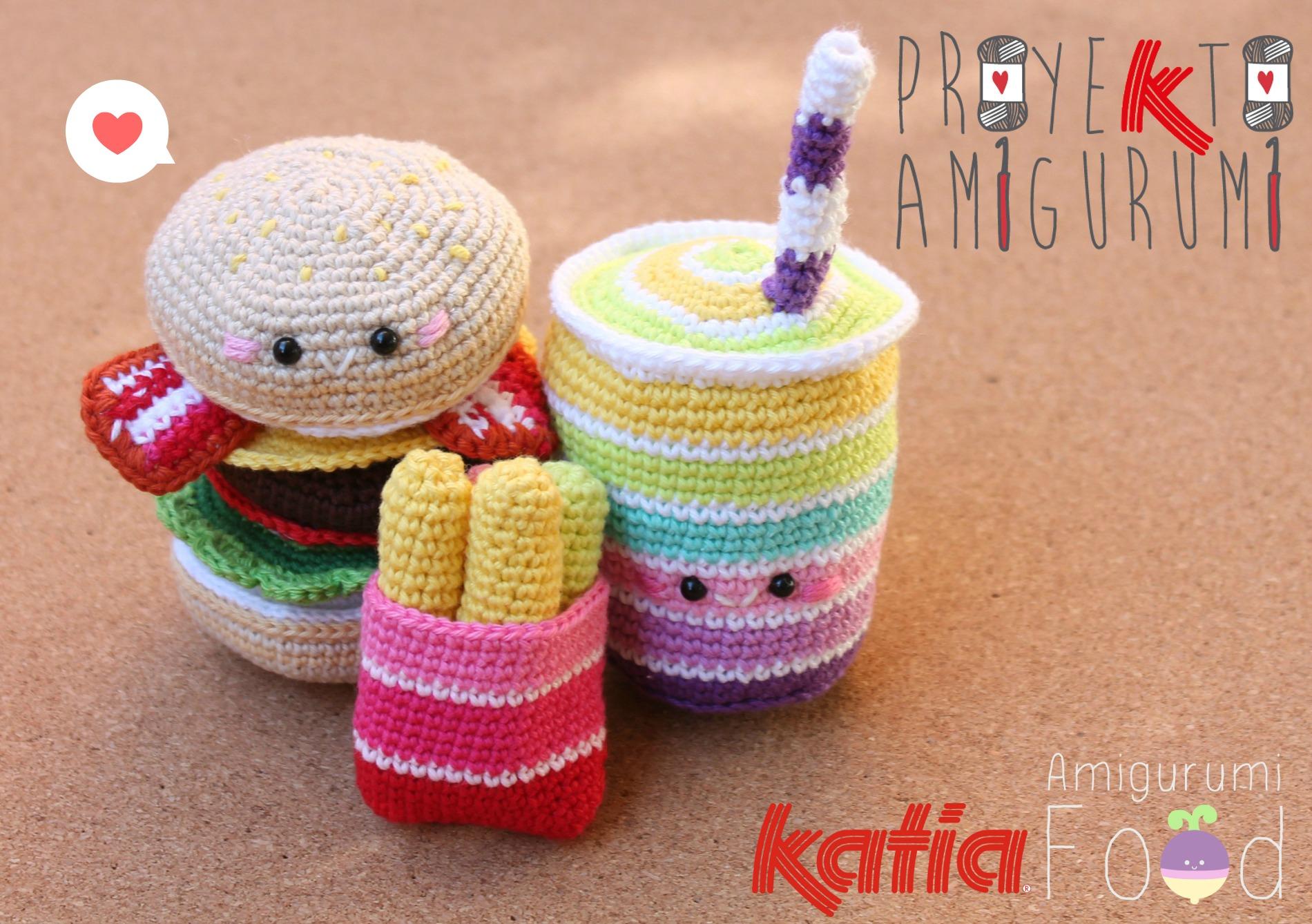 Amigurumi Patterns Free Food : Proyekto Amigurumi. Combo by Amigurumi Food