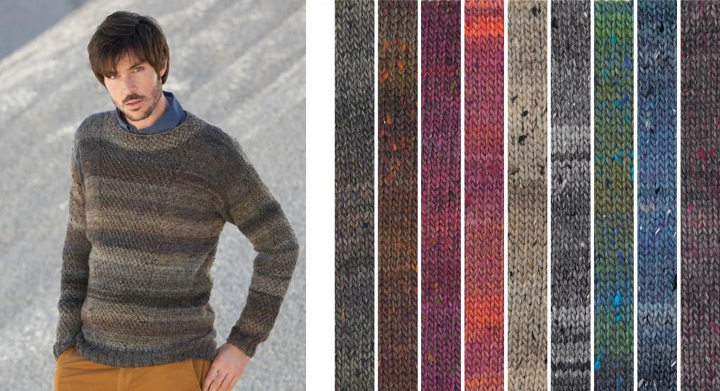 Punto para ellos lanas katia blog - Patrones jerseys de punto hechos a mano ...