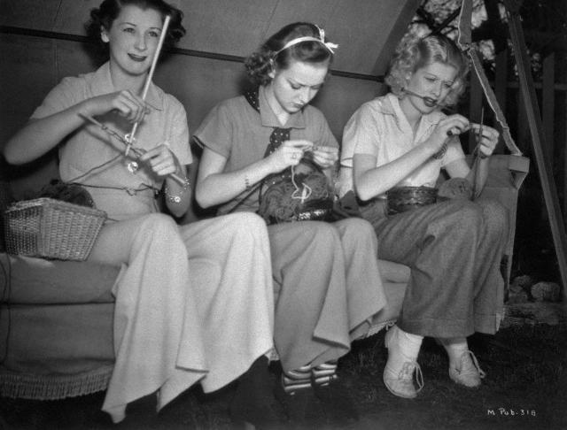 knitting-vintage