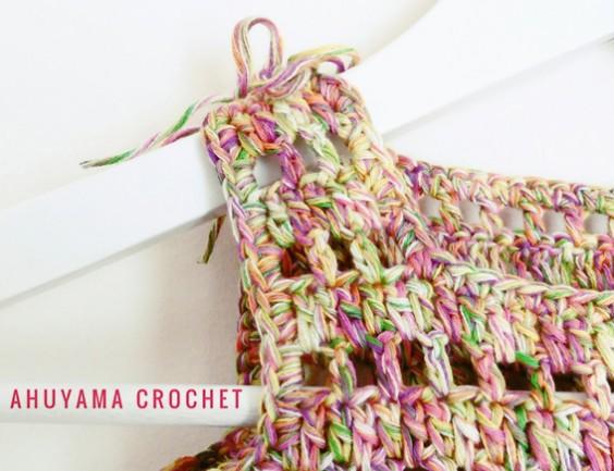 Como tejer VESTIDO DE NIÑA a Crochet Paso a Paso - TALLAS de 0 a 10