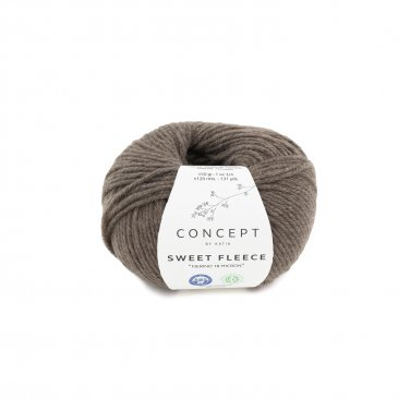 SWEET FLEECE - Fawn brown - 63