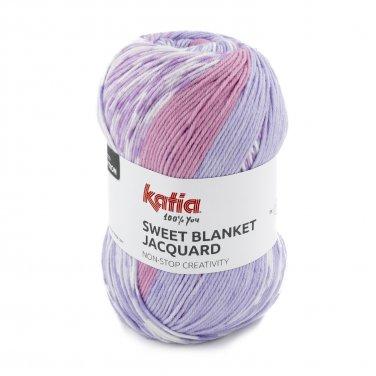 SWEET BLANKET JACQUARD - Rosé-Lilas - 300