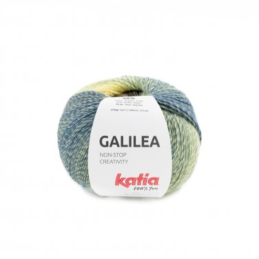 GALILEA - Braun-Dunkelblau-Zitronengelb - 306