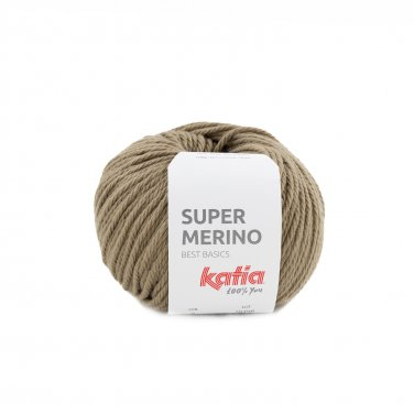 SUPER MERINO - Fawn brown - 6
