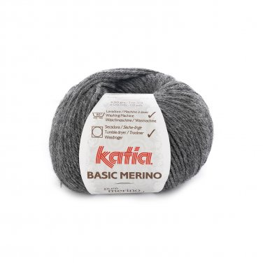 BASIC MERINO - Very dark grey - 14