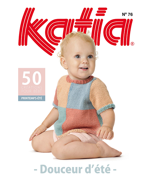Catalogue layette de Printemps / Été de Katia