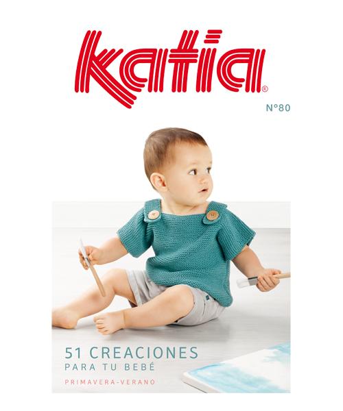 Revista bebé de Primavera / Verano de Katia
