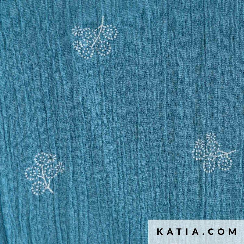 Flowers Prov Blue