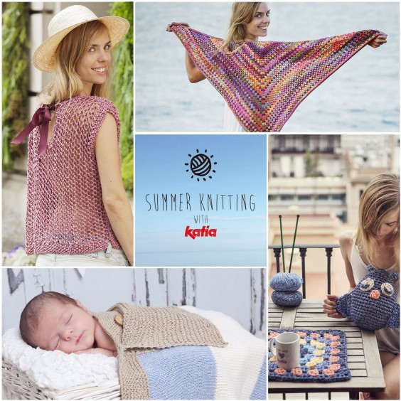 Der Sommer ist zum Stricken da, im Freien! Summer Knitting Gewinnspiel