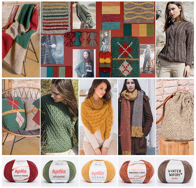 Katia-Kollektion Herbst-Winter 2017/18: Garnen, Zeitschriften und Trends