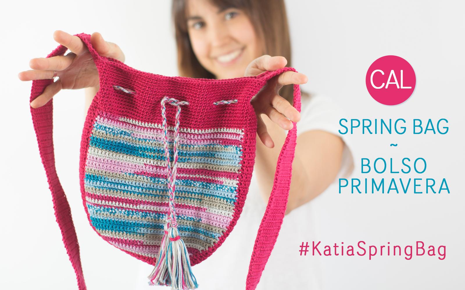 CAL Frühlingshafte Tasche. Tritt unserer Facebook-Gruppe bei!