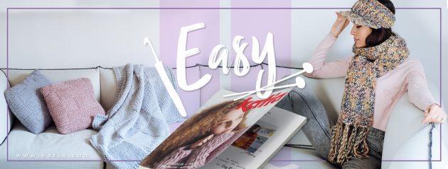 Stricken und Häkeln lernen-Katia Easy Knits