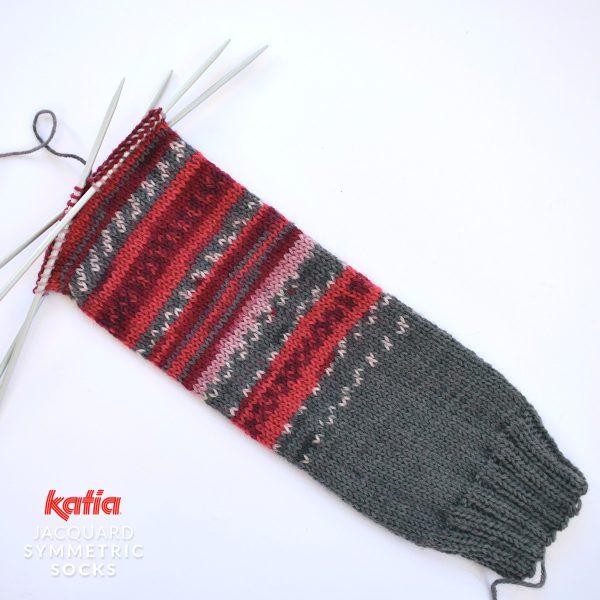 Katia-Socken-Tutorial-Schaft