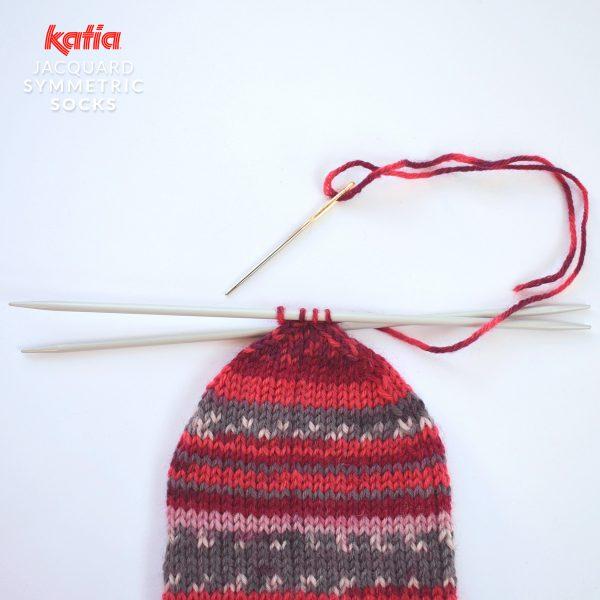 Katia-Socken-Tutorial-Spitze