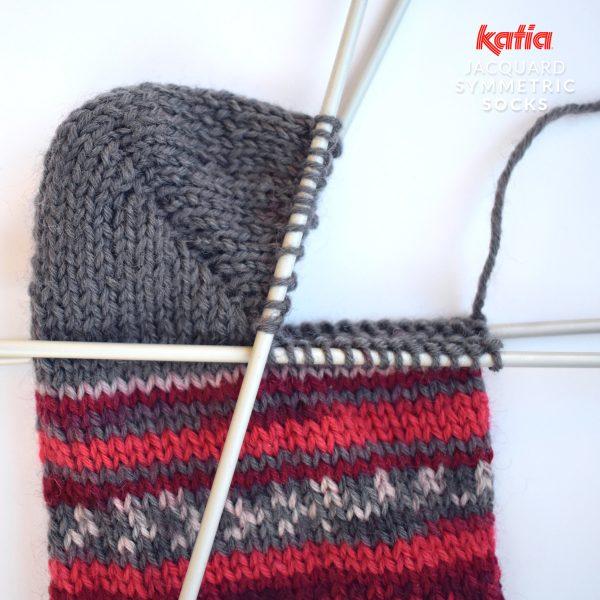 Katia-Socken-Tutorial-Ferse