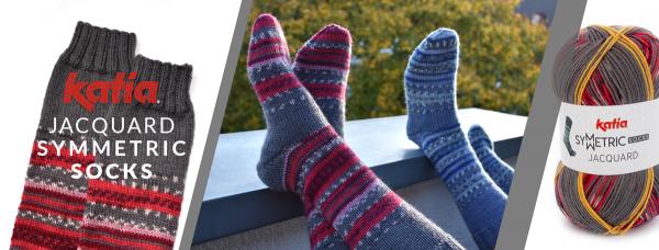Katia-Socks-Jacquard-Symmertic-Socks