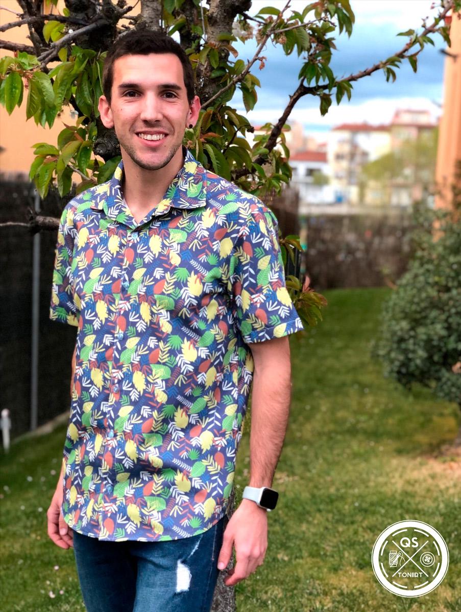 Männer-nähen-Toni Roviro-Hemd
