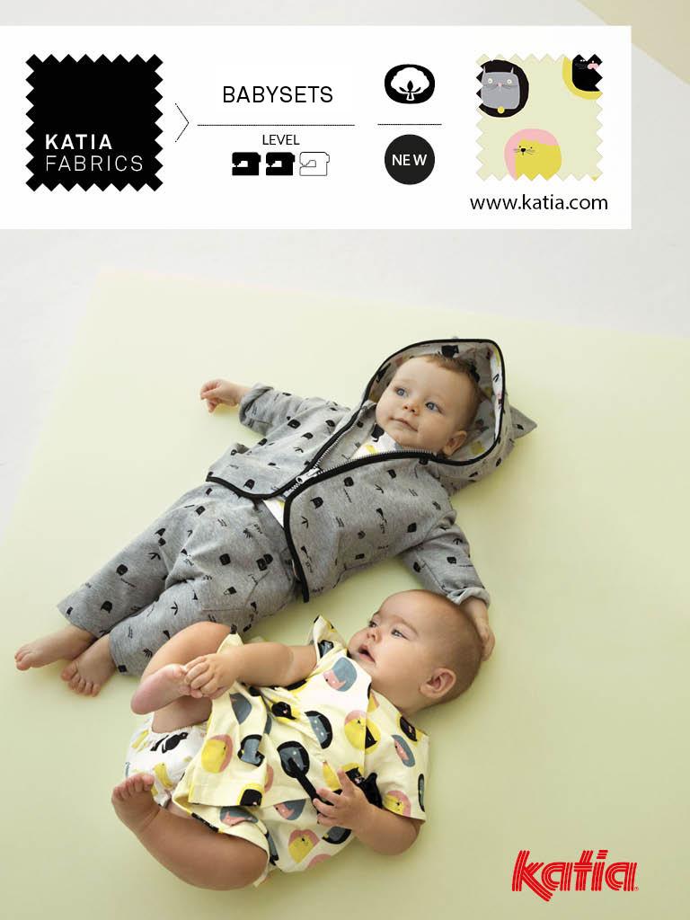 Essentials-Baby-Nähen-Strampler-Set-Sommersweat