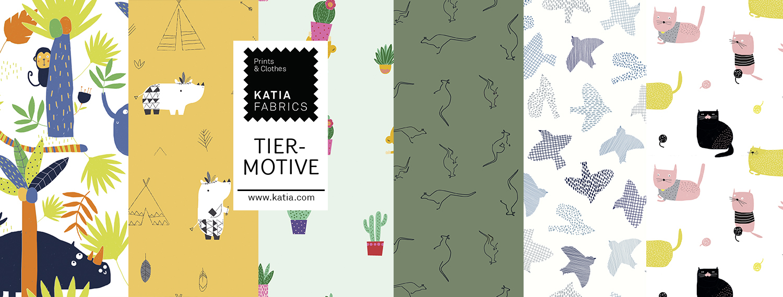 Katia-Fabrics-Stoffe-Druckstoffe-Tiermotive