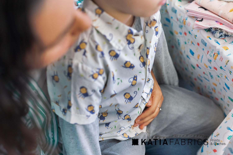 Katia-Fabrics-Stoffe-Druckstoffe-Tiermotive-Affen-Jungle