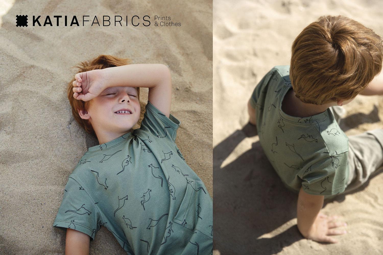 Katia-Fabrics-Stoffe-Druckstoffe-Tiermotive-Känguruh