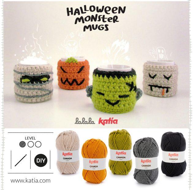 Halloween-gehäkelte-Tassenwärmer-Monster