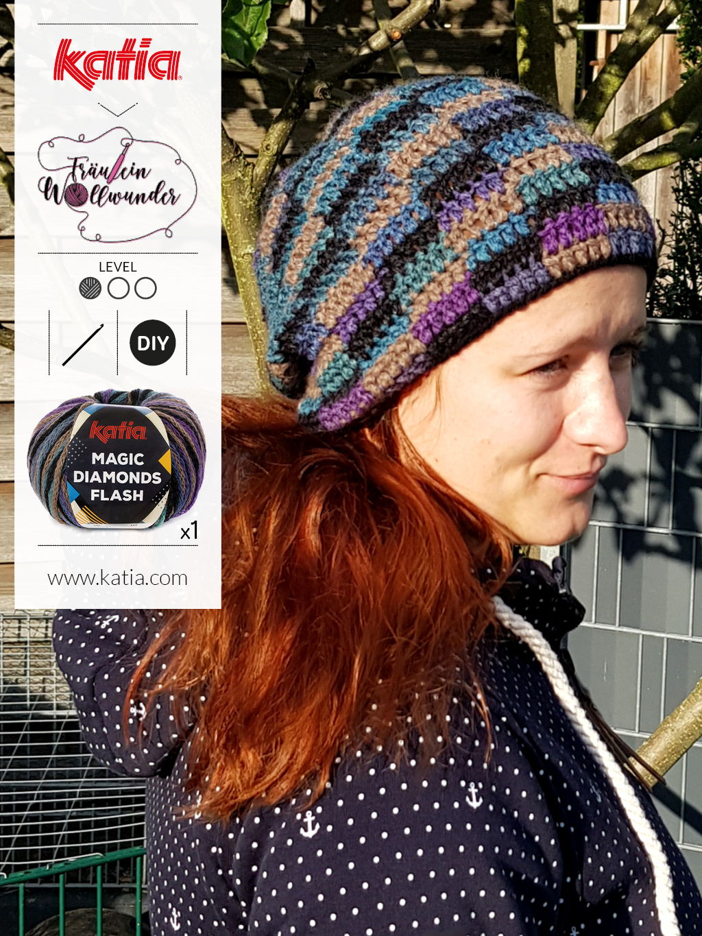 Color-Pooling-Beanie-Mütze