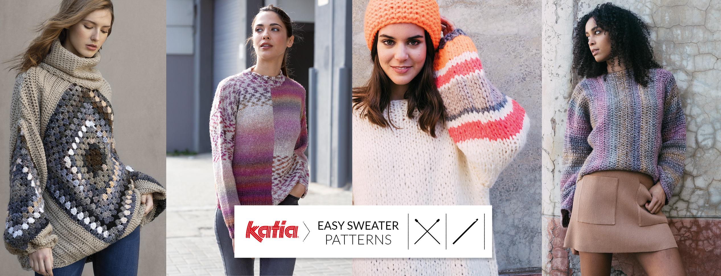 Pullover-für-Anfänger-stricken-häkeln