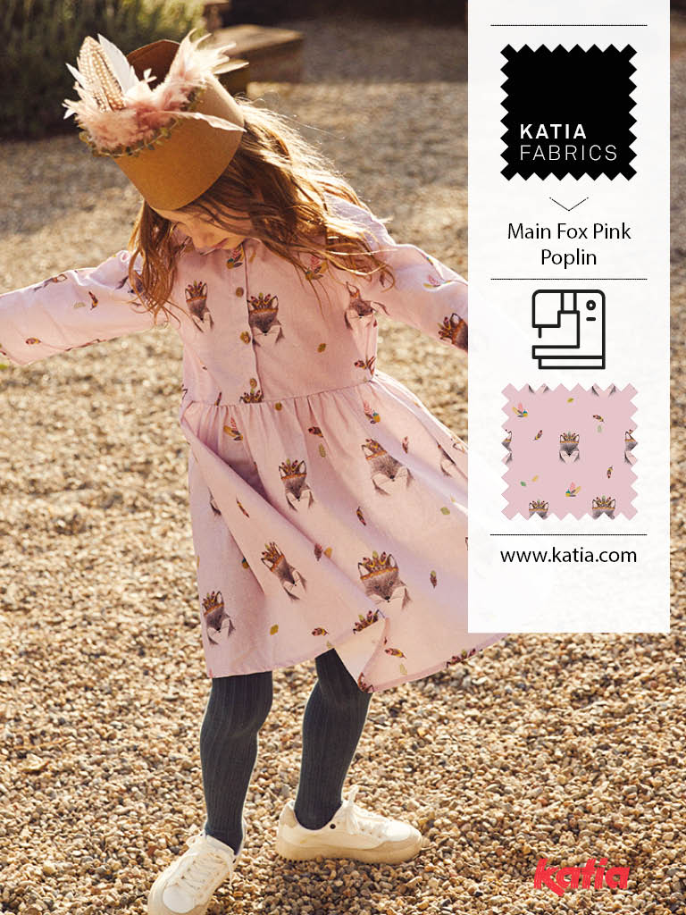 Kinderkleider-Mädchen-Schnittmuster-Fuchs