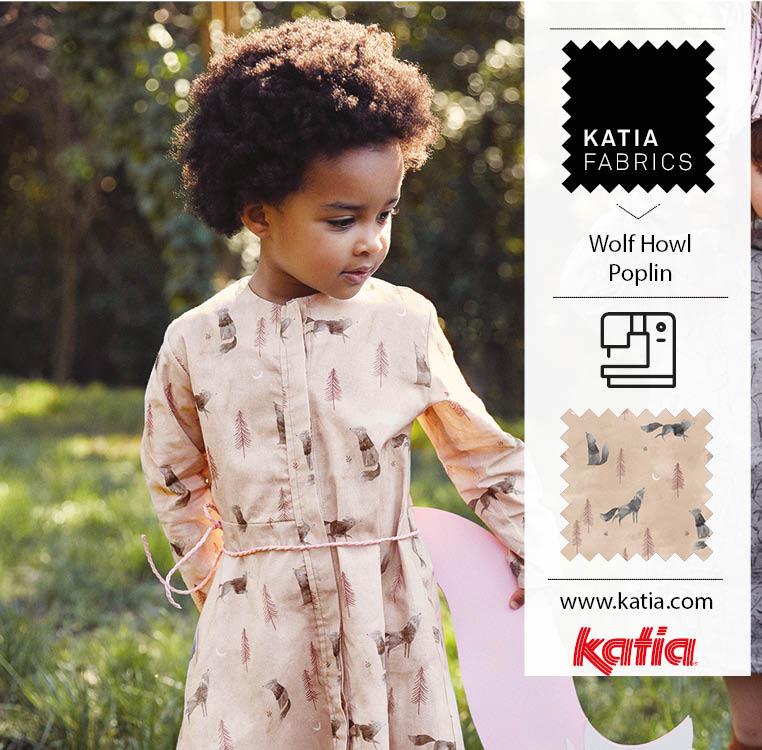 Kinderkleider-Mädchen-Schnittmuster-Knopfleiste