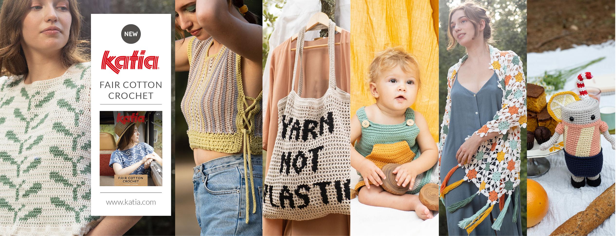Magazin-Fair-Cotton-Crochet-Häkeln