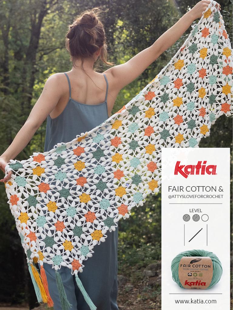 Tuch-häkeln-Stola-Fair-Cotton-Magazin