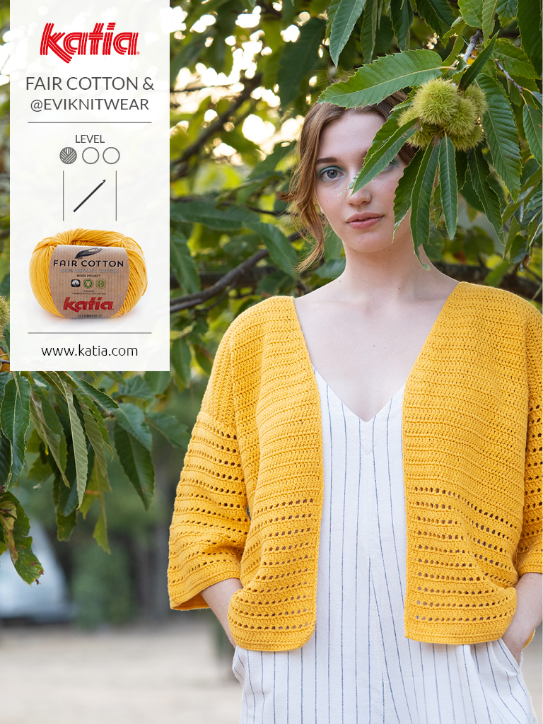 Magazin-Fair-Cotton-Crochet-Jacke