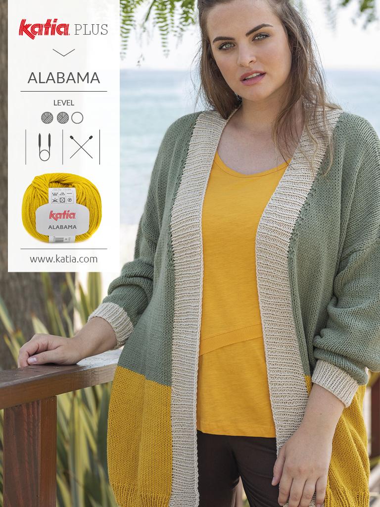 Katia-Plus-Mode-für-große-Größen-Jacke-stricken