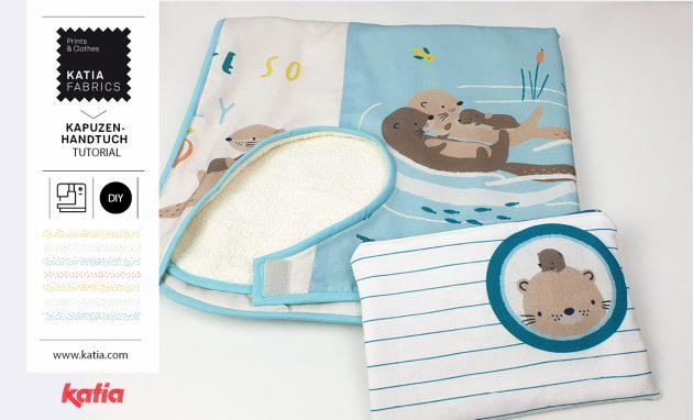 Kapuzenhandtuch-nähen-Tutorial-Otter
