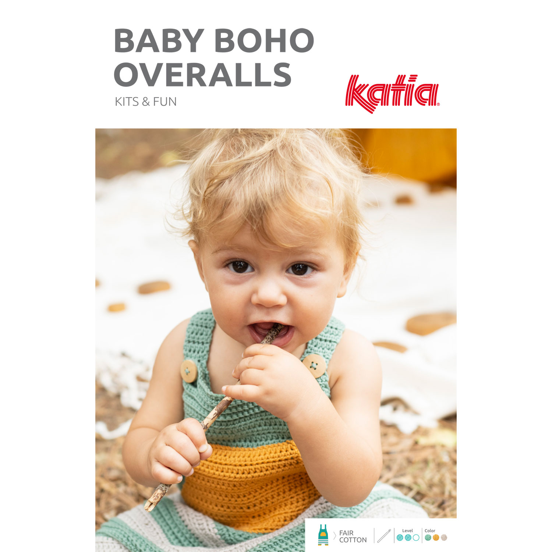 Kits-Häkeln-Strampler-Baby-Boho