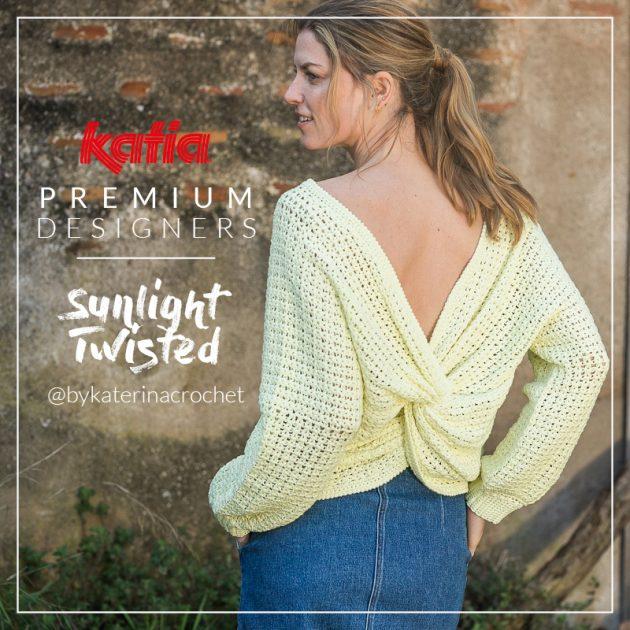 Pulli-mit-verknotetem-Rücken-Twisted-Sunlight-Katia-Premium-Designers