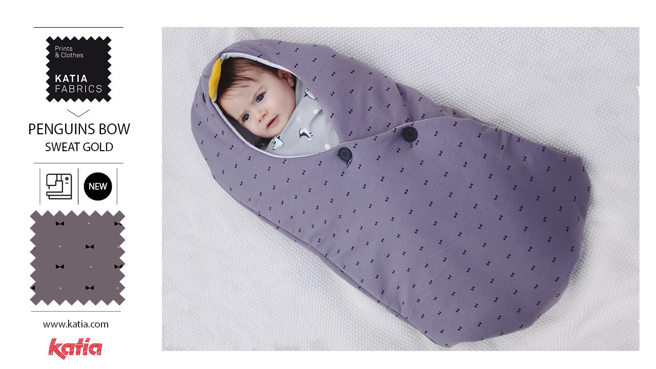 ORIGINS-Nähmagazin-Katia-Fabrics-Schnittmuster-Accessoires-Baby-Schlafsack