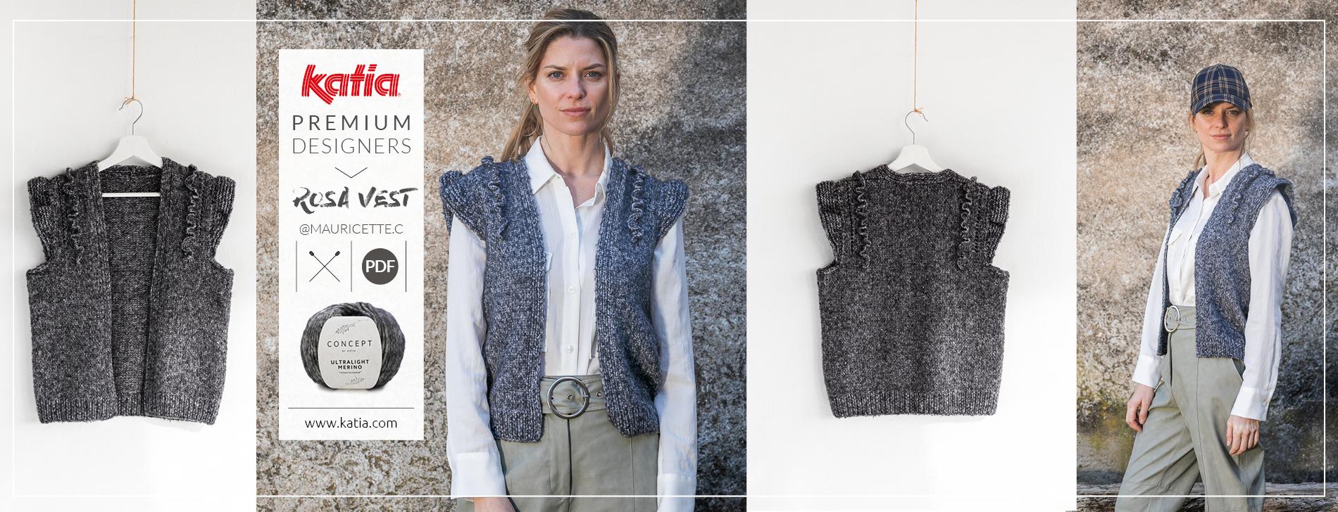 Premium-Designers-Mauricette-C-Weste-Rosa