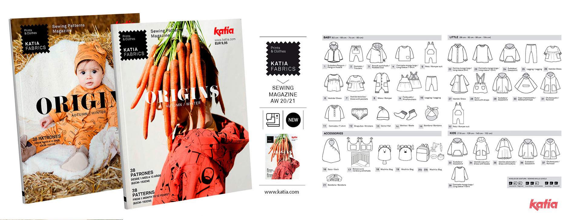 ORIGINS-Nähmagazin-Katia-Fabrics-Schnittmuster