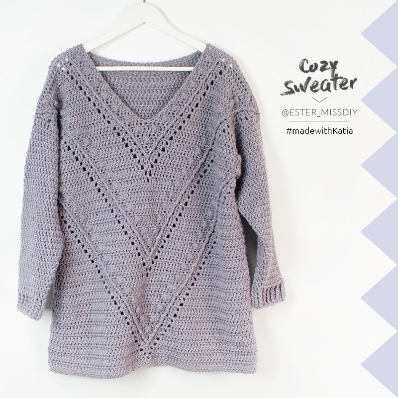 Maxi-Pulli-Cozy-Pullover-häkeln-Videotutorial