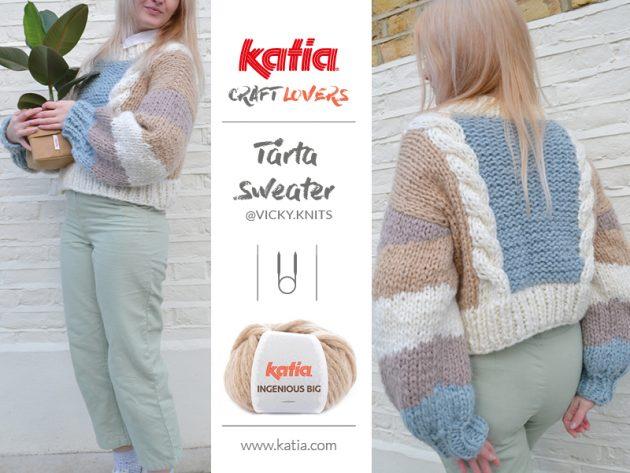 Pulli-Tarta-Vicky-knits-chunky-Intarsien