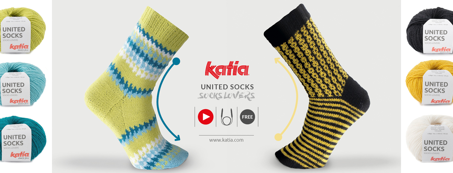 Mustersocken-stricken-Videotutorial-Magic-Loop