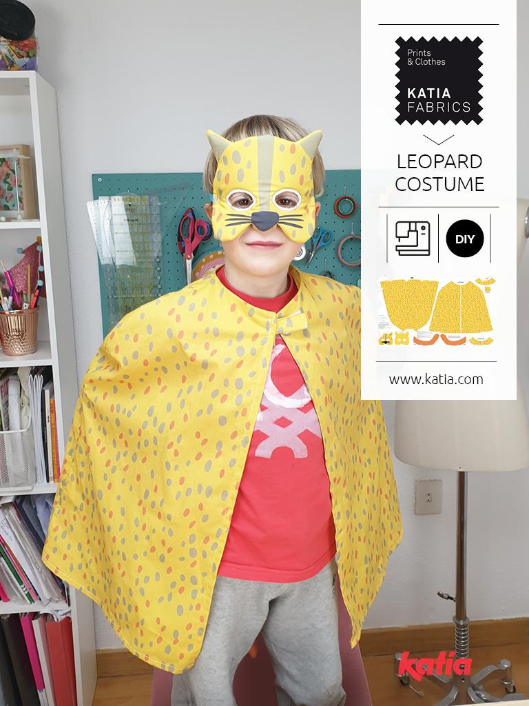 Leoparden-Kostüm-für-Kinder-nähen