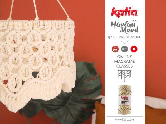 Katia-Makramee-Kurs-Lampe