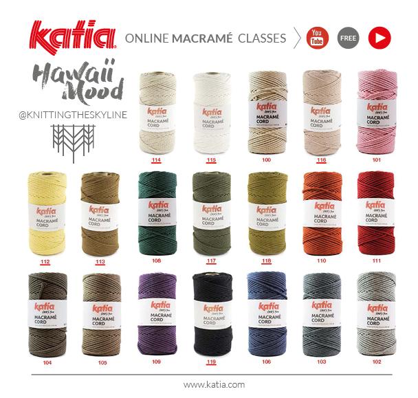 Katia-Macramé-Cord-Farben