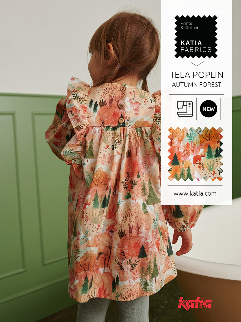 Katia-Fabrics-Kollektion-miniMe-Herbst-Winter-2021-22-Popeline-Autumn-Forest