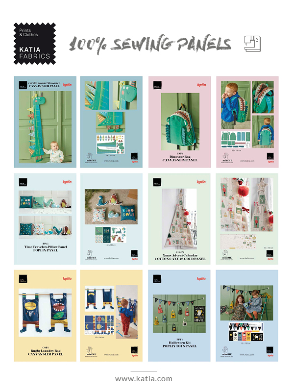 Nähen-Panels-Katia-Fabrics