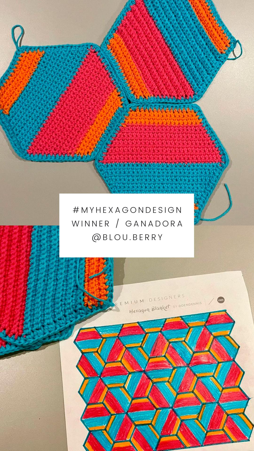 Hexagon-Blanket-dendennis-Wettbewerb-Häkeldecke-Gewinnerin-blou.berry