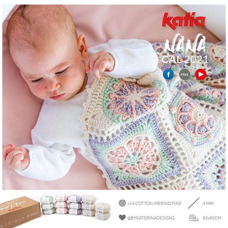 CAL-Nana-Babydecke-häkeln